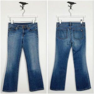 Tory Burch Classic Tory Boot Cut Jeans Size 27